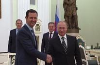 الأسد وصل إلى موسكو سرا والتقى بوتين (فيديو)