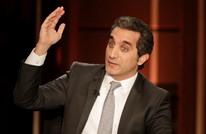 """باسم يوسف يغرد عن سنة من سجن علاء عبد الفتاح.. """"كتير قوي"""""""