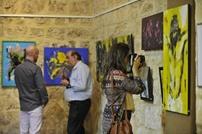 رسالة سلام من خلال معرض فني ببيروت