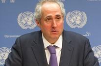 هكذا مازح متحدث الأمم المتحدة صحفيا وجه له سؤالا (شاهد)