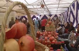 """""""الرمّان"""" يغازل عشاقه في مهرجان بالأردن"""