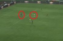 لاعب البرازيل يوظف مهارة عالية ويحرز هدفا عالميا (فيديو)