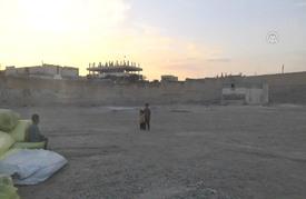 تركيا تستكمل عملية إنشاء مخيم للنازحين في جرابلس السورية
