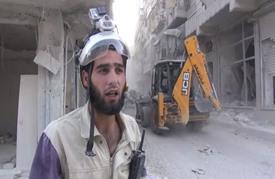 الدفاع المدني منهك وسط غارات كثيفة على شرق حلب