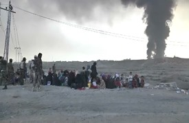 بدء نزوح آلاف العوائل من المناطق المتاخمة لمدينة الموصل