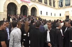 إضراب عام للمحامين التونسيين احتجاجا على فرض ضرائب جديدة
