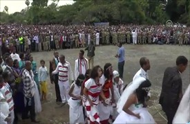 احتفال بالعيد الوطني بأثيوبيا يتحول لمظاهرة واشتباك مع الشرطة
