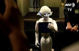 """روبوتات """"بيبر"""" الصغيرة تدخل سوق العمل في تايوان"""