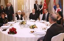 وزير خارجية صربيا يغني لأردوغان أغنية تركية (شاهد)