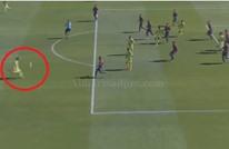 لاعب مغربي يسجل هدفا عالميا لفريقه خيتافي بالليغا (فيديو)