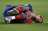 18 تمويها عجيبا للاعبي الكرة أثناء سقوطهم (فيديو)