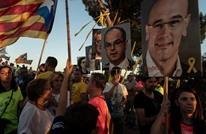 احتجاجات في كتالونيا على اجتماع الحكومة المركزية في برشلونة