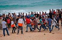93 إصابة باعتداء الاحتلال على مسيرة بحرية بغزة (شاهد)