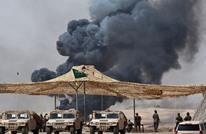 تحطم طائرة عسكرية سعودية ومقتل طاقمها (فيديو )