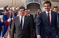 أمير قطر يغرد من الإكوادور.. ماذا منحه رئيسها؟ (صور)