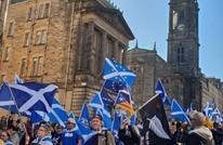 مسيرات مؤيدة لانفصال أسكتلندا عن المملكة المتحدة (شاهد)
