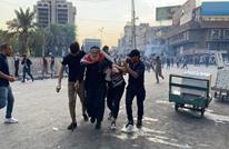 قتلى وإصابات بقمع تظاهرة ببغداد ورئيس الوزراء يعلق (شاهد)