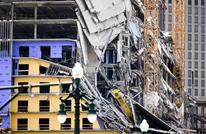 مقتل شخص وجرح 18 بانهيار فندق قيد الإنشاء في أمريكا (شاهد)