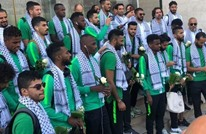 بعثة منتخب السعودية لكرة القدم تزور المسجد الأقصى (شاهد)