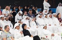 هذا ما فعله أمير قطر عندما مر بوالده خلال مباراة رياضية (شاهد)