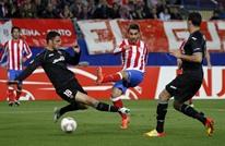 """أتلتيكو مدريد يسقط في فخ """"الخفافيش"""" (شاهد)"""