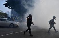 تواصل الاحتجاجات في هونغ كونغ والشرطة تقمعها