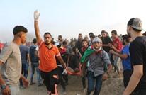 شهيد وإصابات بالجمعة الـ77 لمسيرات العودة بغزة (شاهد)