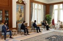 أمير قطر يلتقي وفدا أمريكيا لبحث القضايا المشتركة