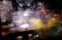 هجوم عنيف بالمفرقعات على مركز للشرطة بباريس (شاهد)