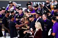 ليكرز يتوج بطلا للدوري الأمريكي لكرة السلة