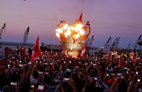 """مواجهات بمظاهرات لبنانية أحيت ذكرى """"ثورة 17 أكتوبر"""""""