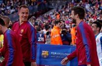 برشلونة يمدد عقود أربعة من نجومه.. تعرف عليهم
