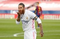 """ريال مدريد يحسم معركة """"كلاسيكو الأرض"""" بثلاثية"""