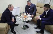بوتين يهنئ البطل العالمي حبيب بعد تغلبه على الأمريكي غايتجي