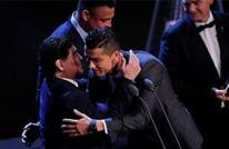 على أنغام الكومبيا.. رونالدو يهنئ مارادونا بعيد ميلاده (شاهد)