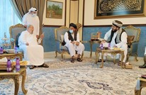 الشيخ القرضاوي يستقبل وفدا من طالبان بالدوحة