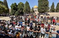 آلاف يستجيبون لدعوات الحشد بالأقصى.. واعتقالات (شاهد)