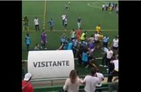 شجار بين لاعبين وجمهور بالبرتغال يدفع الشرطة لإطلاق النار