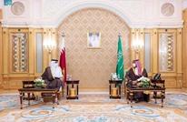 ابن سلمان يستقبل أمير قطر في الرياض.. بحثا تعزيز التعاون