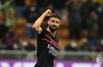 غيرو يحقق رقما مميزا مع ميلان في الدوري الإيطالي