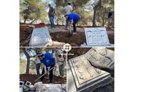 استمرار تجريف المقبرة اليوسفية بالقدس.. وتفاعل واسع (شاهد)