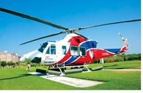 مصرع 4 أشخاص في أبوظبي إثر سقوط طائرة إسعاف