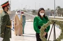 """وزيرة إسرائيلة تزور """"نصب الشهيد"""" في أبو ظبي (شاهد)"""