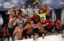 إسبانيا توقف قطار إيطاليا وتبلغ نهائي دوري الأمم الأوروبية
