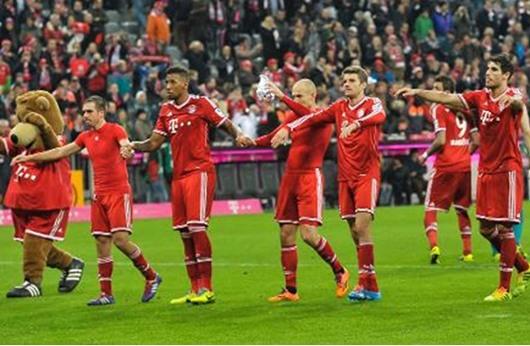 بطولة المانيا: البايرن يحطم رقما قياسيا عمره 30 عاما