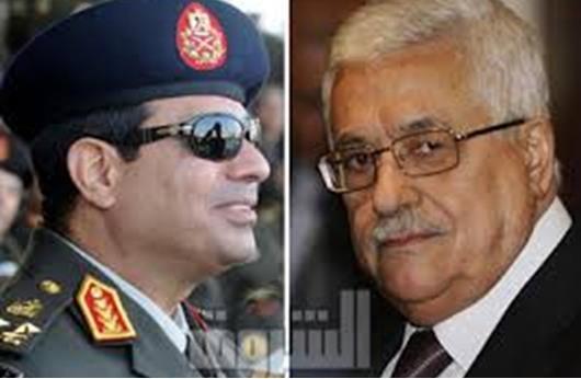عباس يجتمع بالسيسي بالقاهرة