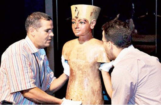 """العثور على فرعونين من عصر """"الرعامسة"""""""
