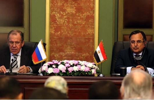 لافروف: مستعدون لمساعدة مصر بكافة المجالات