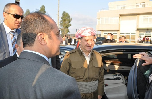 بارازاني يصل تركيا ويلتقي بأردوغان مساء اليوم
