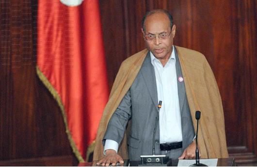 الأمن التونسي يبلغ الرئيس المرزوقي بوجود مخطط لاغتياله